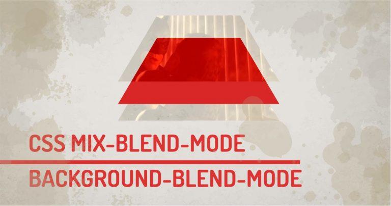 CSS Blend Mode